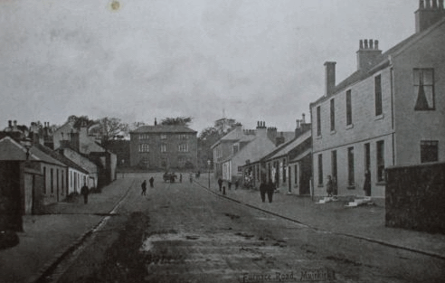 Furnace Road at beginning of 1900's
