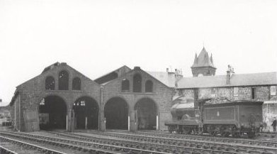 Muirkirk Engine Sheds in 1951