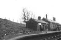 Muirkirk Railway Station in May 1958