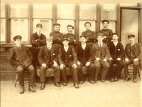 Picture of Muirkirk railwaymen - click to enlarge the picture