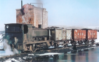 Shunter at Kames Colliery 1968