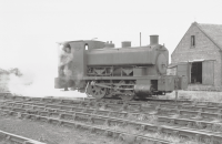 NCB Shunter at Kames Colliery Muirkirk 11th September 1968