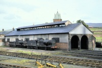Muirkirk Engine Shed in 1962