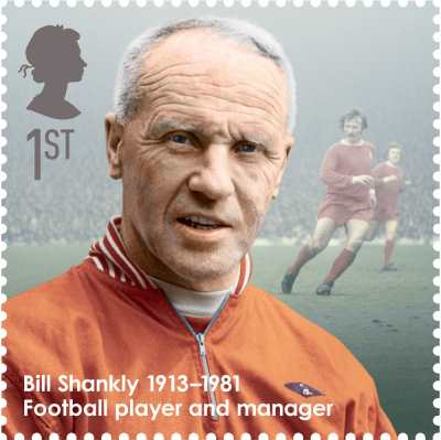 Bill Shankly Stamp 2013