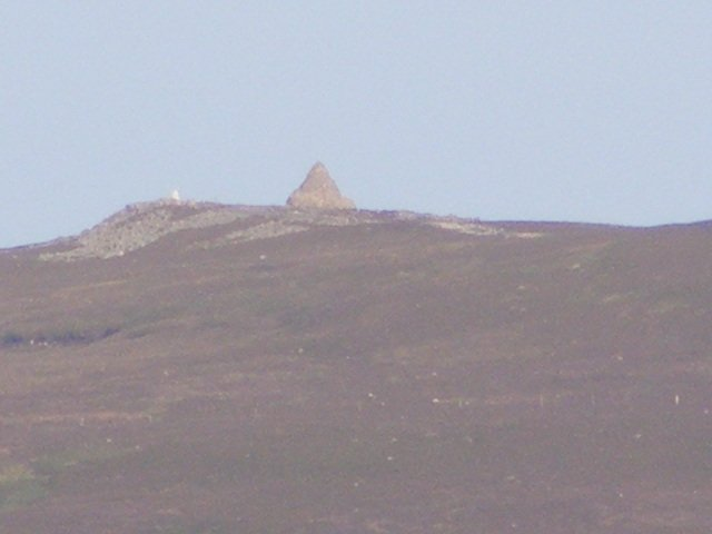 The cairns on top of Cairntable