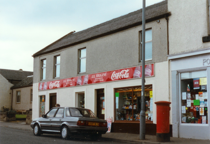 Muirkirk Main Street around 1990