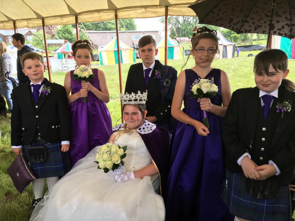 Muirkirk Gala Day Court 2016