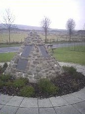 Covenanters Memorial Cairn at Muirkirk Heritage Layby