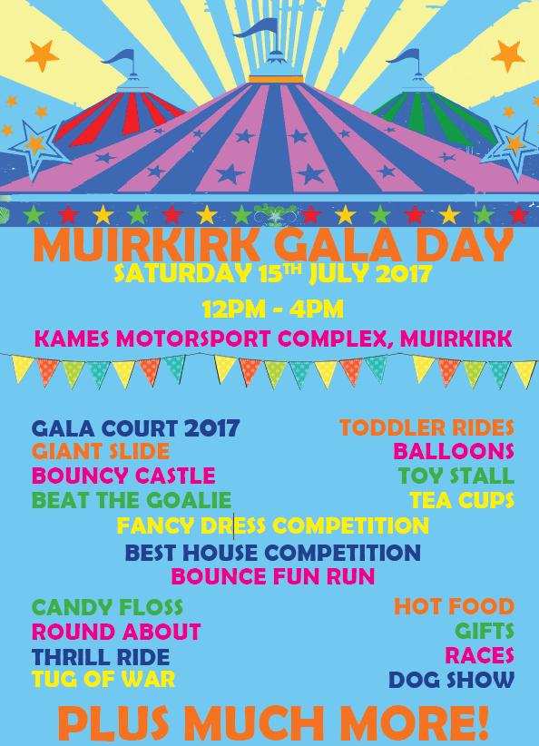 Muirkirk Gala Day 2017